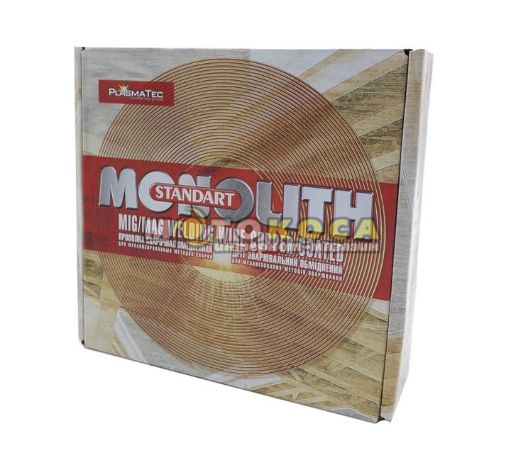 Сварочная проволока омедненная Monolith Св-08Г2С (0,8 мм х 4 кг) купить, отзывы