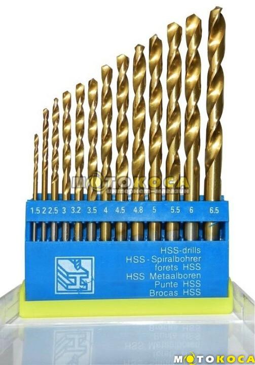 Набор сверл по металлу HSS-TIN 13шт. (1214031) купить, отзывы